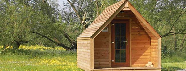 'Camping Pod'