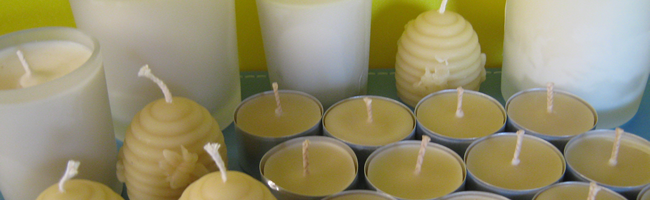 Bees Wax & Soy Homemade Candles