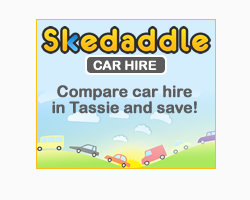 Compare car hire in Tassie an save !